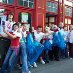 Red Cafe litter pick