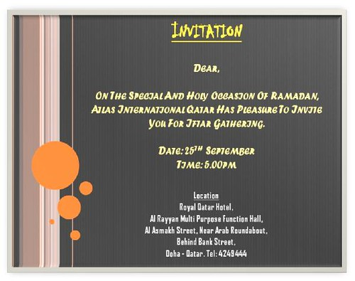 Iftar dinner invitation format party bwf format invitation dinner iftar executive httpflickrphotos stopboris Gallery