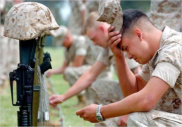 american soldiers crying - photo #10