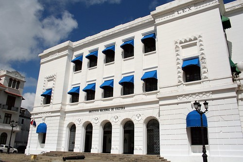 Instituto Nacional Cultura, casco viejo