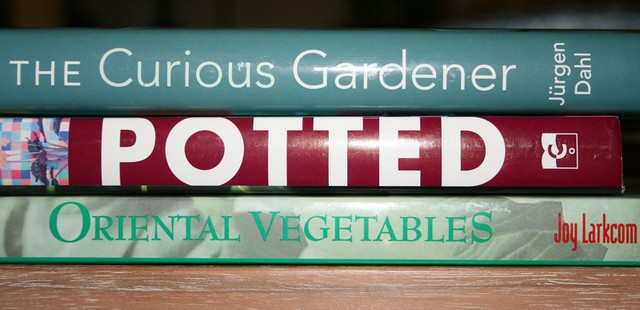 Pile of Gardening Books