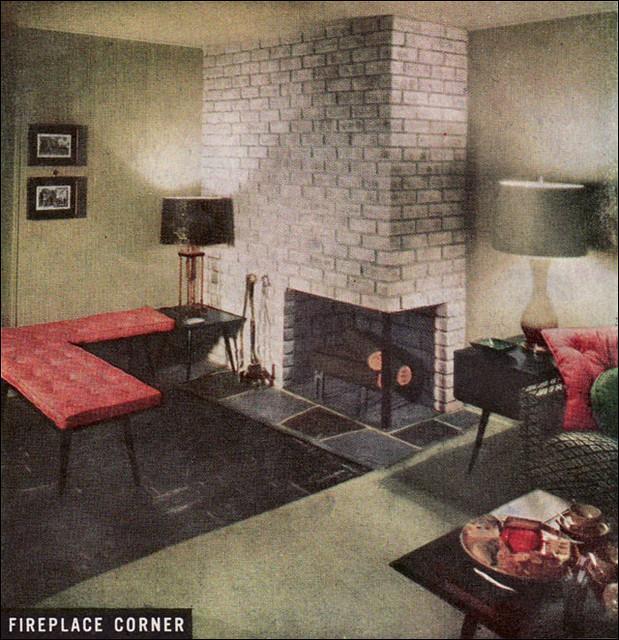 1950 Fireplace Corner Flickr Photo Sharing