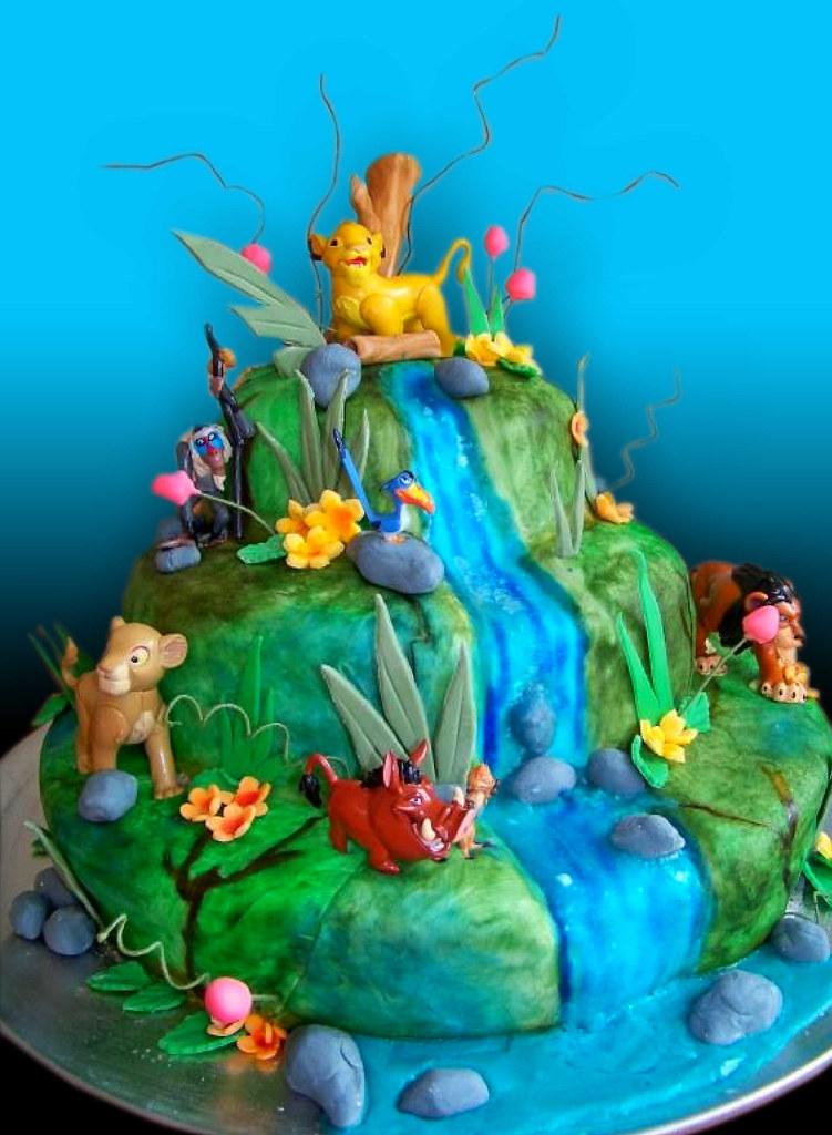 Lion King Cake Alicia S Farewell Lion King Show Giovanni Ozuna