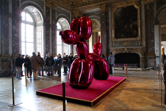 Jeff Koons : Balloon Dog (Magenta) (1994-2000)