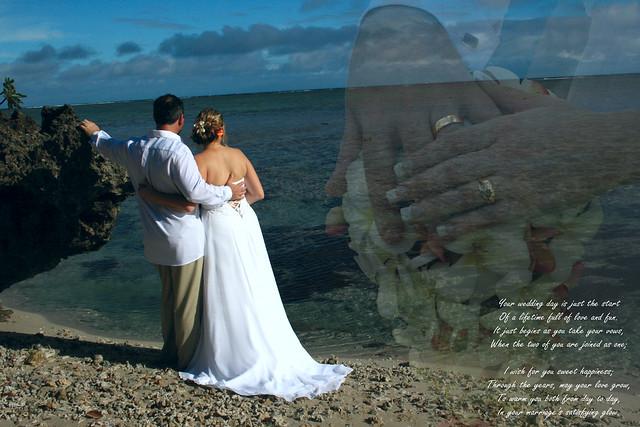 wedding super imposed poem