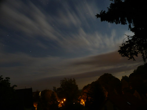 light sky cloud moon night clouds dark lights stream exposure nacht moonlight late chemnitz lightstream wittgensdorf