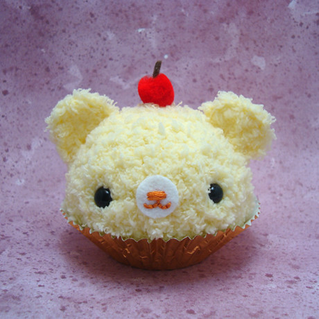 Amigurumi Lemon : Amigurumi Lemon cupcake bear with cherry on top Flickr ...