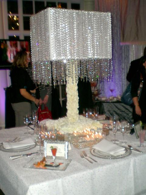 Wedding lampshade centerpiece flickr photo sharing