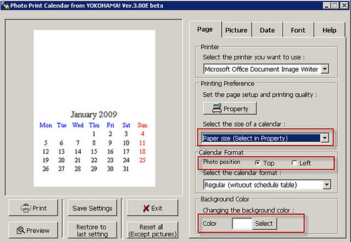 Calendar Diy Software : Photo print calendar create your own diy calender