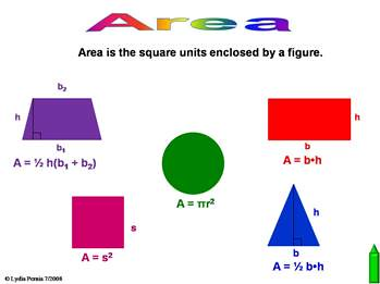 7 G 6 Area Surface Area And Volume This Site Has Been
