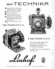 Linhof Super Technika ad 1961
