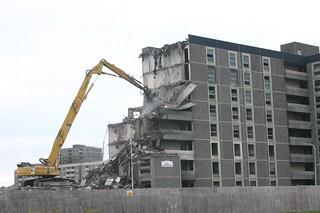 Demolition in Ballymun