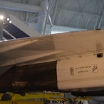 Steven F. Udvar-Hazy Center: Concorde (view of aft starboard engine nacelle, with Rolls-Royce logo