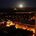 Small photo of Almaty by night