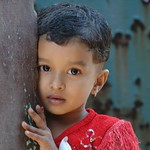 Shy Indian Girl - Kerala, India