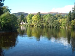 River Oich at Loch Ness - Fort Augustus - Scotland