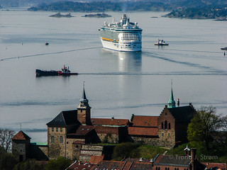 """Independence of the Seas"" in Oslo, Norway"