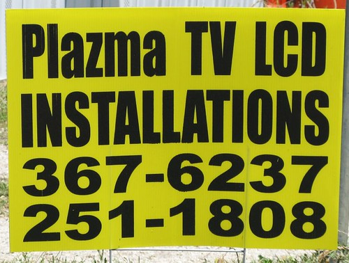 PLAZMA TV LCD Installations