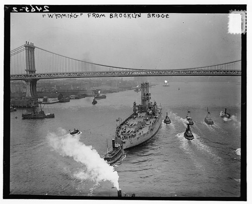 WYOMING from Brooklyn Bridge  (LOC)