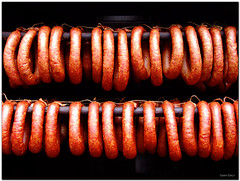 meat, food, bratwurst,