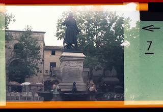 Saint Louis statue at Aigues Mortes