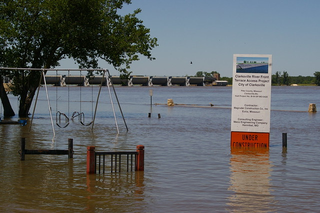 Flooding in Clarksville MO | Flickr - Photo Sharing!
