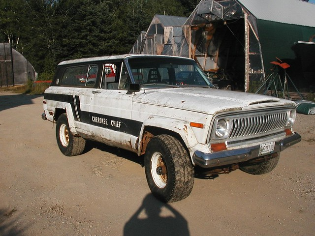 1977 Jeep Cherokee Chief Parts http://www.flickr.com/photos/27711307@N06/2580953779/