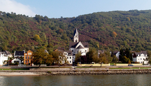Village Life On The Rhine