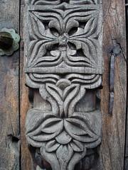 Mahogany door, Fort Jesus detail
