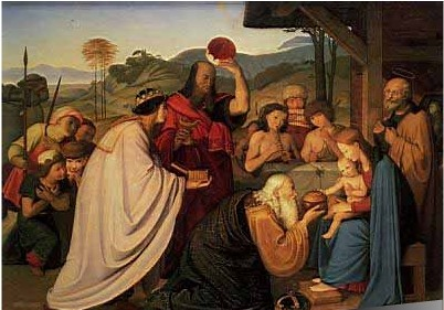 Adoración de los Magos - Johann Friedrich Overbeck | Flickr - Photo ...