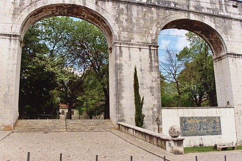 my aqueduct & garden