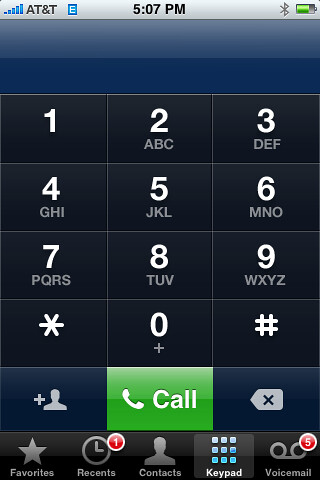 Keypad For Iphone
