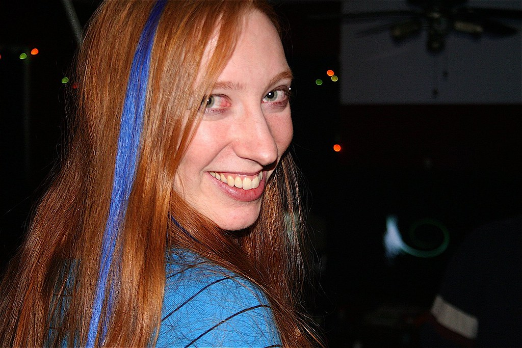 20080223 Carolyn S Birthday Party Nicole New Blue Streak By
