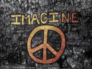 Peace & Imagine