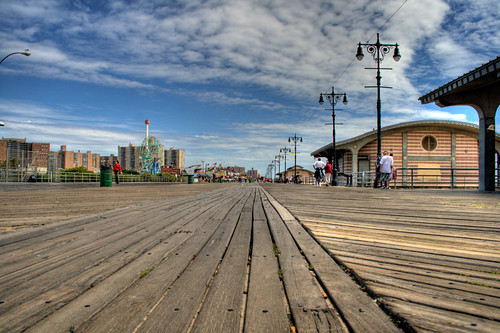 Riegelmann Boardwalk West HDR