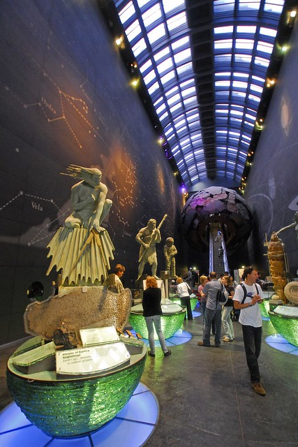 UK - London - Natural History Museum Rear Entrance