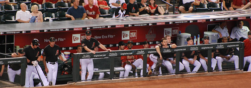 2008 Arizona Diamondbacks Dugout