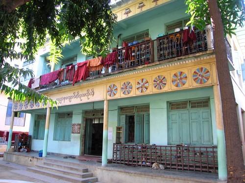 Monk Dormitory - Mandalay, Myanmar