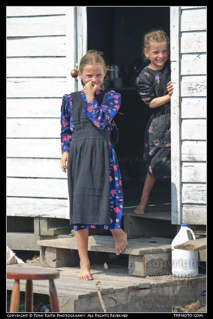 Two Mennonite Girls Flickr Photo Sharing