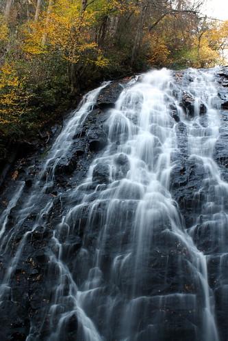 mountains color fall water nc blueridgeparkway crabtreefalls yanceycounty golddragon anawesomeshot damniwishidtakenthat davidhopkinsphotography ncpedia
