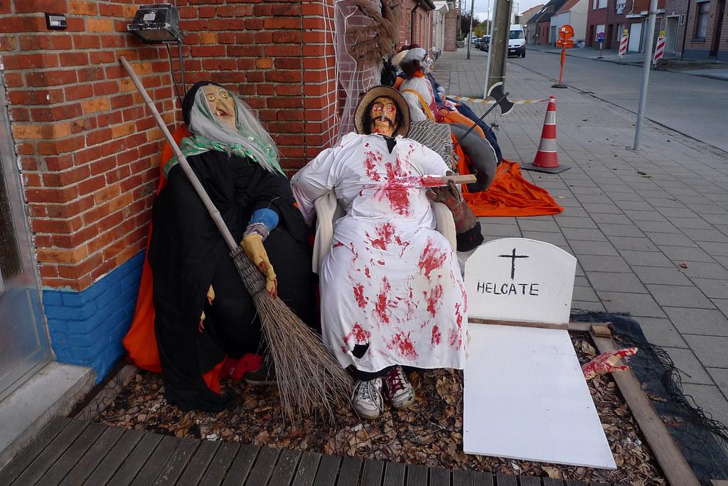 Halloween In Belgie.2008 10 27 15 34 35 Belgie Zandvliet Halloween Flickr