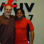 Victor Wooten with Darren DeVivo at WFUV