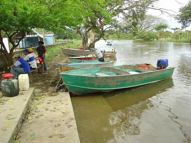 embarcadero de puerto de nutrias