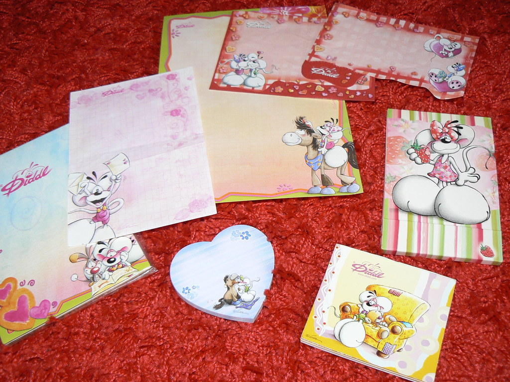 Diddl cute letter..