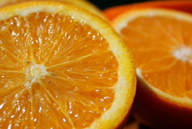 oranges citrus color measurement