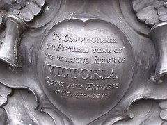 Photo of Victoria bronze plaque