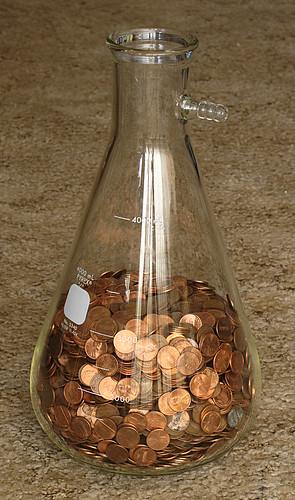 beaker money