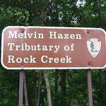 Melvin Hazen Tributary of Rock Creek