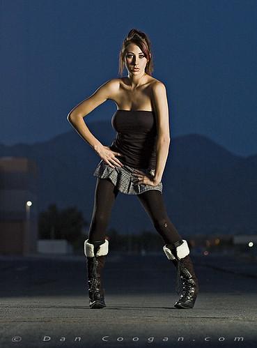 sexy fashion model skirt prettygirl coogan strobist modelmayhem