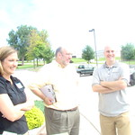 Mary Ellen Ponder, Randy Kiser, and Tony George at the St. Louis Labor Walk on June 28th